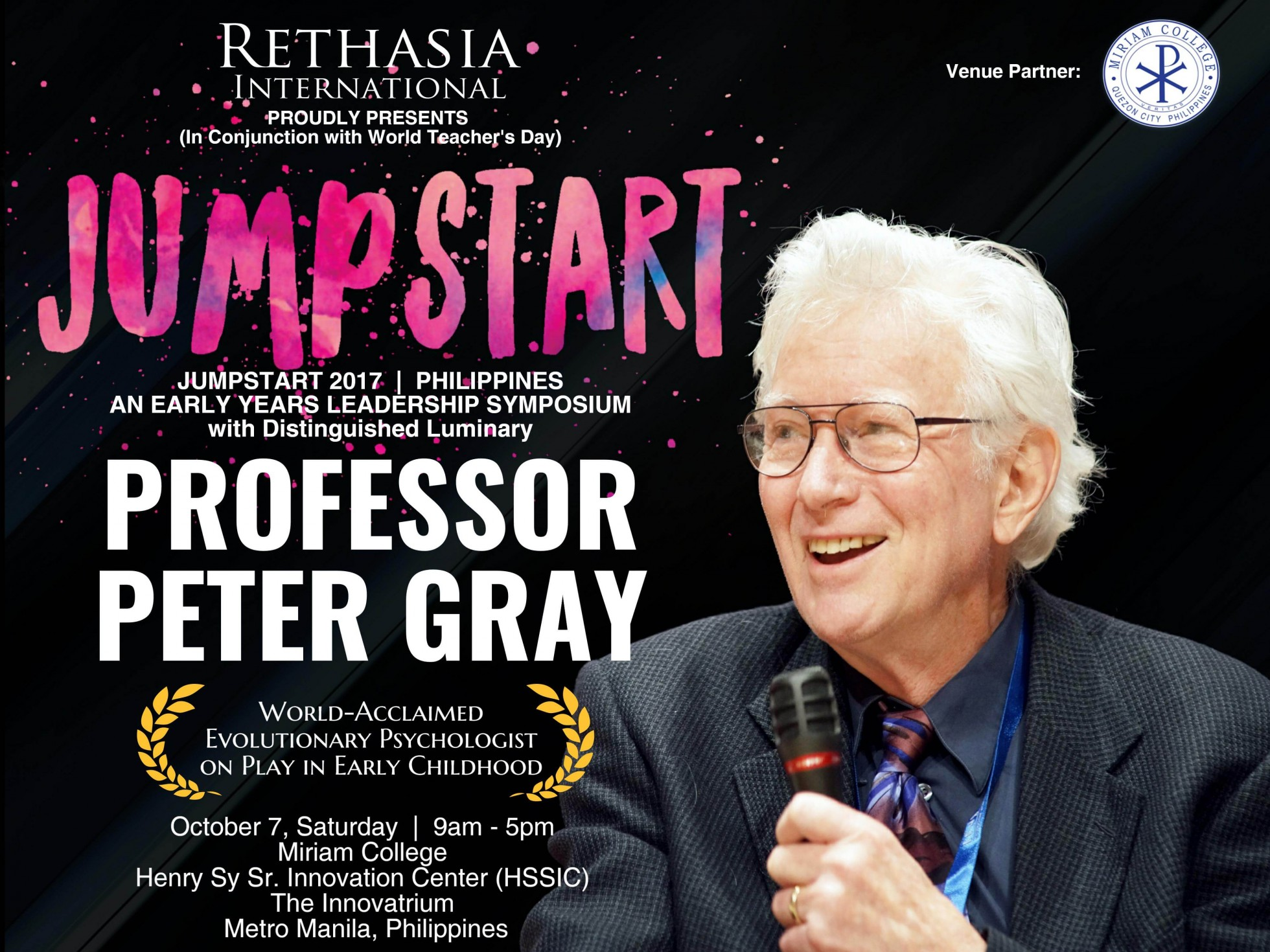 Rethasia: Jumpstart With Peter Gray